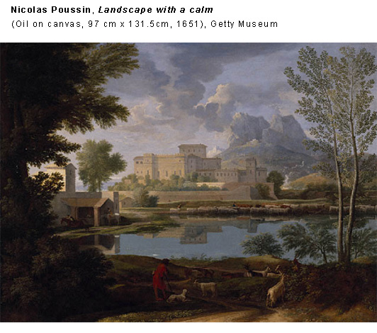 Landscape with a calm